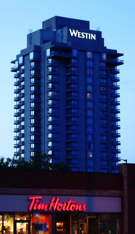 Westin Prince Hotel, Toronto, Canada, Tim Hortons, Breakfast