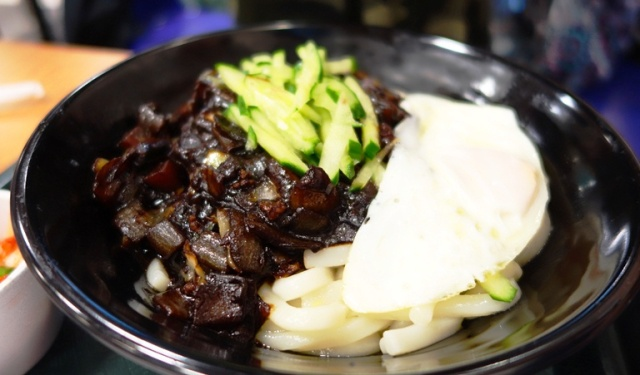 Korean Food, Noodle Dish,