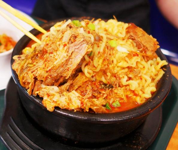 Beef Bone Noodles, Korean Food, Woodpecker Korean Food