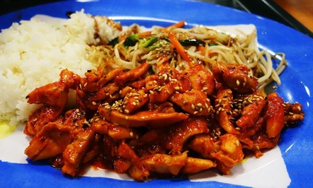 Korean Cuisine, Korean Food, Woodpecker, Spicy Chicken, Woodpecker Korean