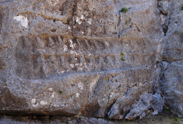 Yazalikaya, Turkey, Hattusha, Hittites, Rock Carving, 12 gods of the underworld