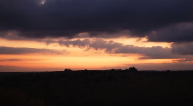 Sunrise, Tel Lachish, Israel, Archaeological Dig