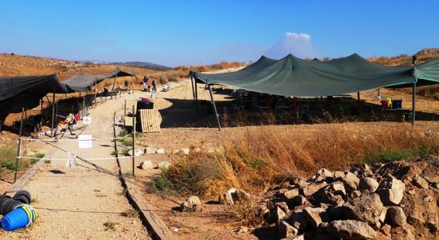 Food Break, Coffee Break, Archaeological Dig, Tel Lachish, Lachish