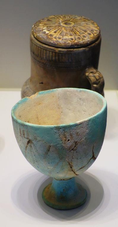 Egyptian Faience Vessels, Lachish, Pottery, Fosse Temple