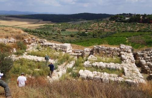 Gezer, Iron Age Gate, Solomonic Gate, Six Chamber Gate