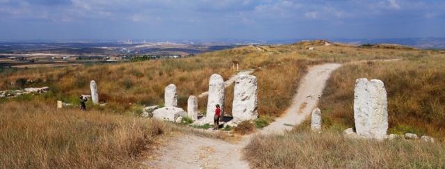 Gezer, Cultic Center, Standing Stones, Tel Gezer
