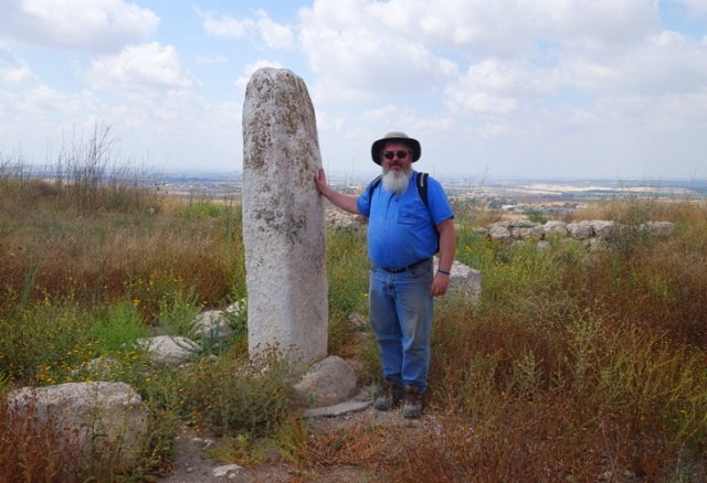 Geezer at Gezer, Standing Stone, Cultic Center