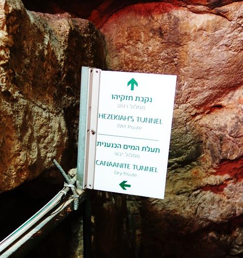 Hezekiah's Tunnel, Water Tunnel, Jerusalem, City of David, Canaanite Tunnel
