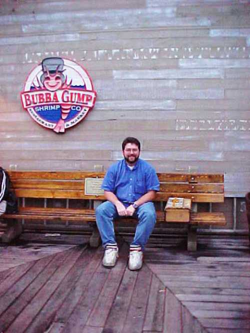 Bubba Gumps Seafood, San Francisco, Food, Forrest Gump Shoes