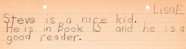Good Feeling Book, Douma Grade School, Ottumwa, Iowa, Assignment, 2nd grade