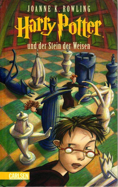 Harry Potter, Stein der Weisen, Carlsen, J. K. Rowling