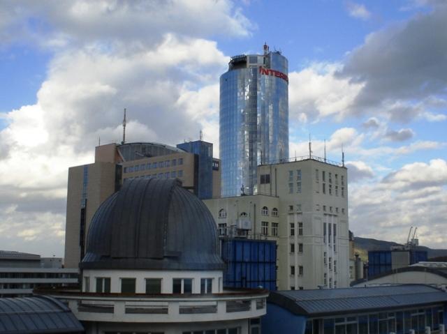 Jena, Germany, Skyline, Jenoptik, Intershop, Planetarium, German Skyline