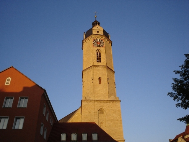 Stadtkirche, St. Michaels, Jena, Germany, Luther, Travel