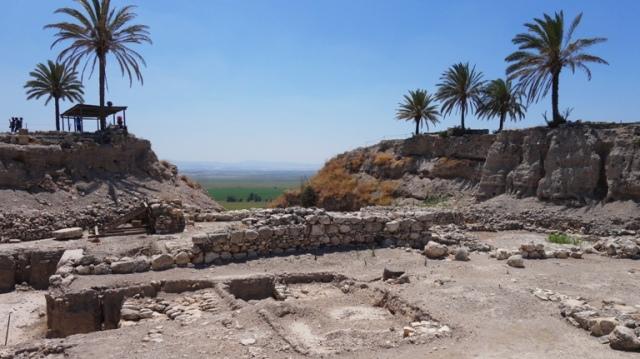 Tel Megiddo, Large Trench, Archaeology, Armageddon, Jezreel Valley