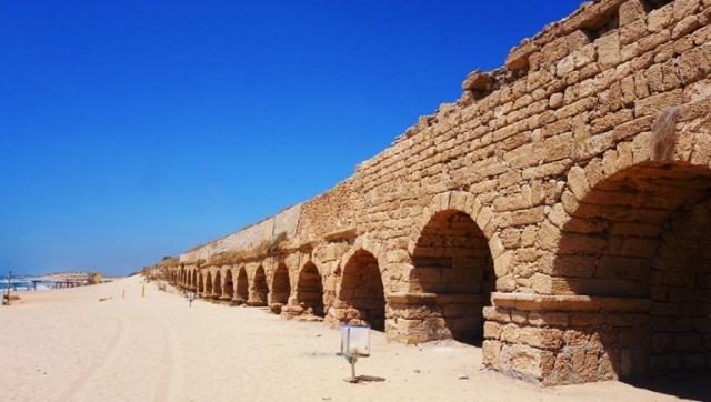 Aqueduct, Roman Aqueduct, Caesarea Maritima