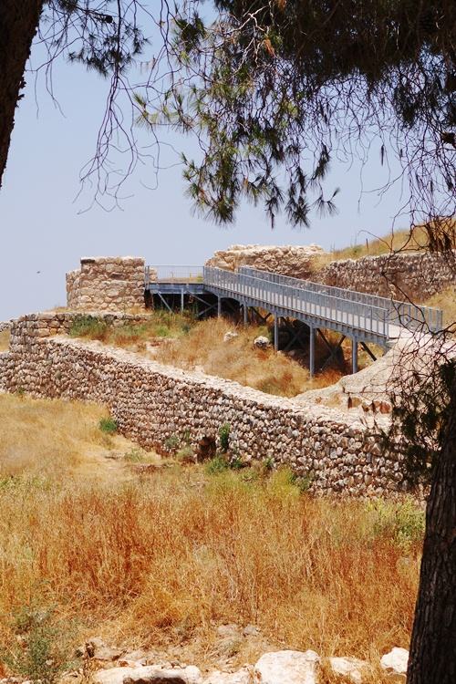 Gates of Lachish, Archaeology, Israel, City Gates, Ramp to Gates
