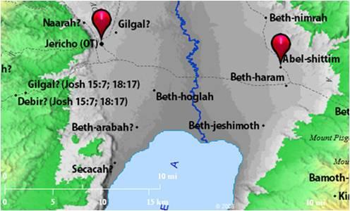 Jordan Valley, Jericho, Shittim, Jordan Valley, Biblos.com
