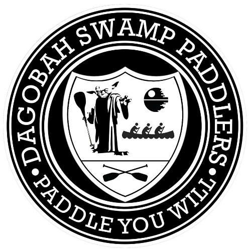 Team Logo, Dogaobah Swamp Paddlers, Paddle You Will, Yoda