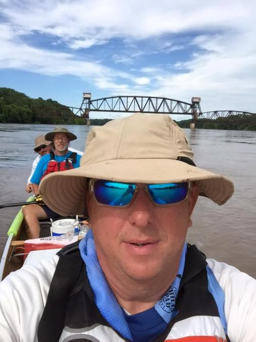 Missouri River Boat Race, MR 340, Bridge, Selfie