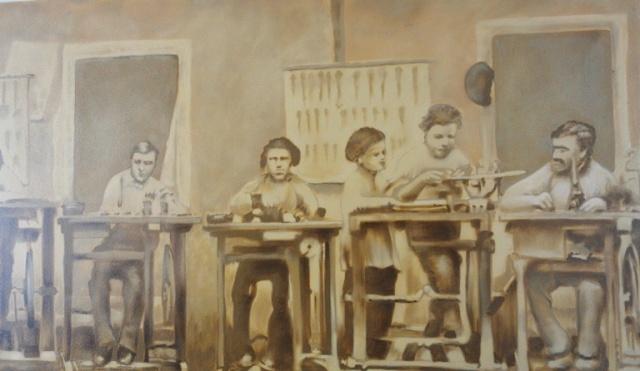 Carl Zeiss, First Workshop, Old Photograph, Wall Art
