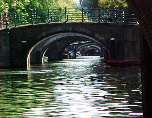 Amsterdam, Canals, Bridges, Netherlands