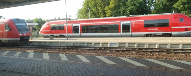 Germany, Regional Train, Weimar, Jena, Travel