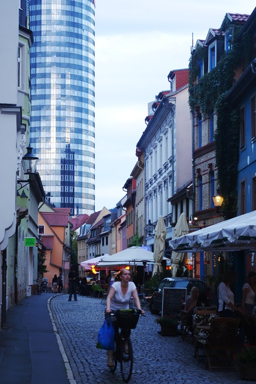 Wagnergasse, Jena, Food, Outdoor Dining, sunset