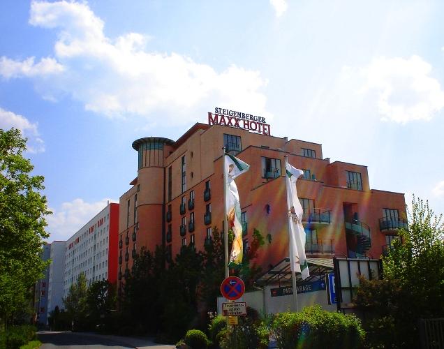 Steigenber Maxx hotel, Jena Germany, Travel