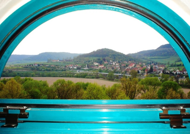 Hotel Room View, Jena Germany, Steigenberger Maxx, Gocshwitz, Lobeda, Germany