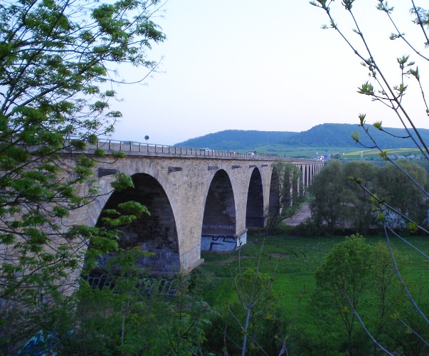 Saale Valley, Saale River, E40, Jena Germany