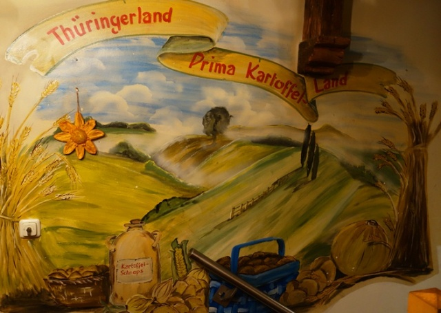 Kartoffelhaus, Jena, Germany, Thuringia, Potatoes