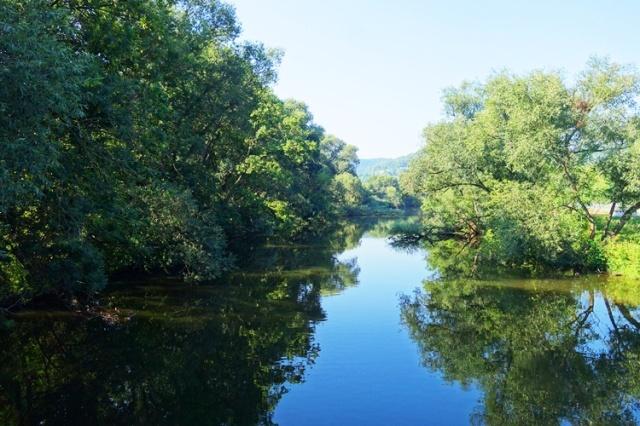 Saale River, Jena, Germany, Goshwitz
