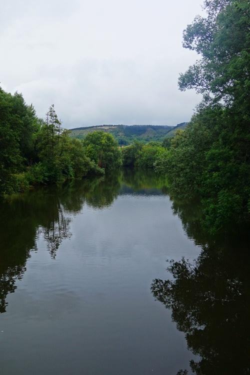 Saale River, Jena, Germany, Lobeda, Reflections