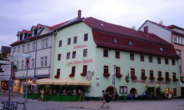 Red Stag, Red Deer, Roter Hirsch, Jena, Germany, Oldest Restaurants, 1509