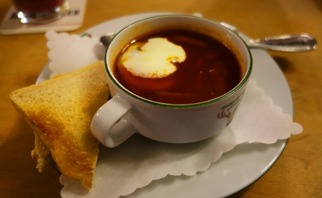 Soljanka, Russian Soup, Spicy Sour Soup, Roter Hirsch, Cuisine