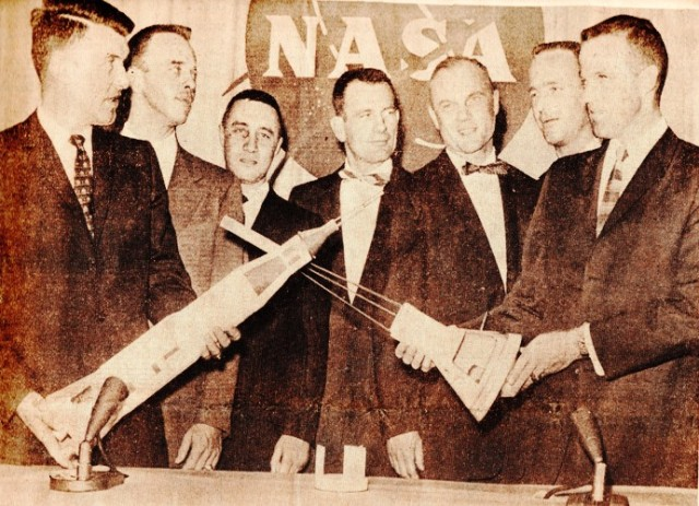 Mercury 7 Astronauts, NASA, First to Fly, Space