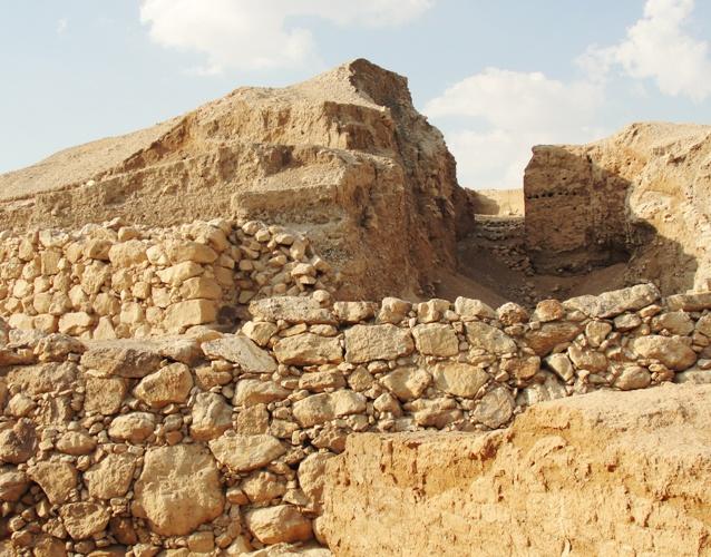 Kathleen Kenyon Jericho Tell Es Sultan Archaeology Walls Of