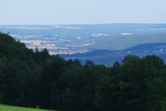 Posen, Germay, View of Jena, Wandering, Hiking paths