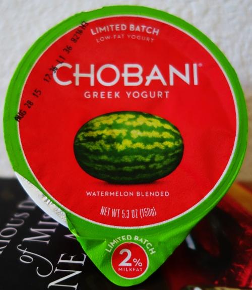 Watermelon Yogurt, Chobani, Limited Edition, Yoghurt