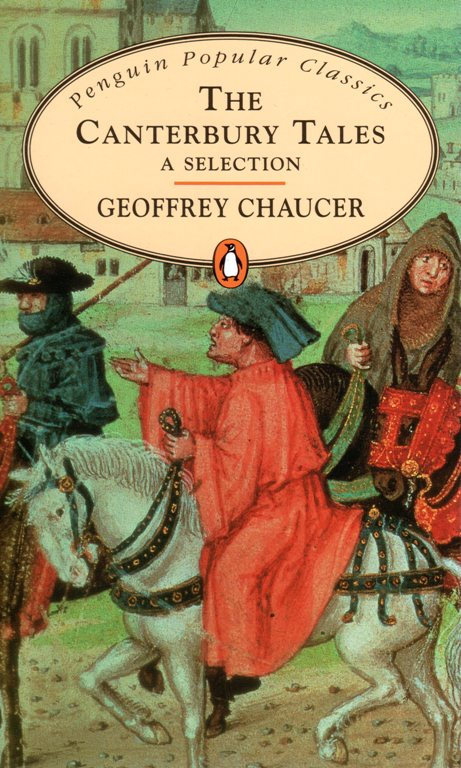 The Canterbury Tales, Geoffrey Chaucer, Penguin popular Classics, Literature, Books