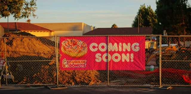 Dunkin' Donuts, Tracy, California, Donuts, coffee
