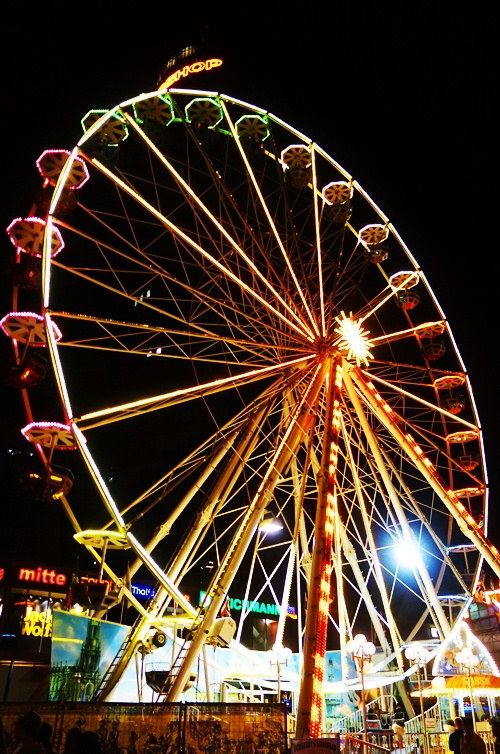 Ferris Wheel, Jena, Germany, Altstadtfest, Carnival