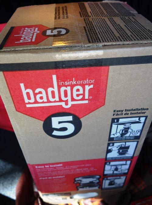 Badger 5 Garbage Disposal, Plumbing, Kitchen Repair, Replacement Disposal