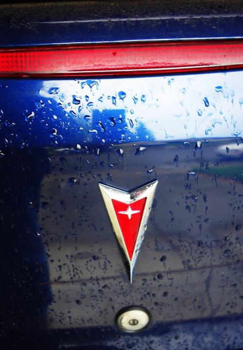 Old Blue, Pontiac, G6, Raindrops, Rain, Drought