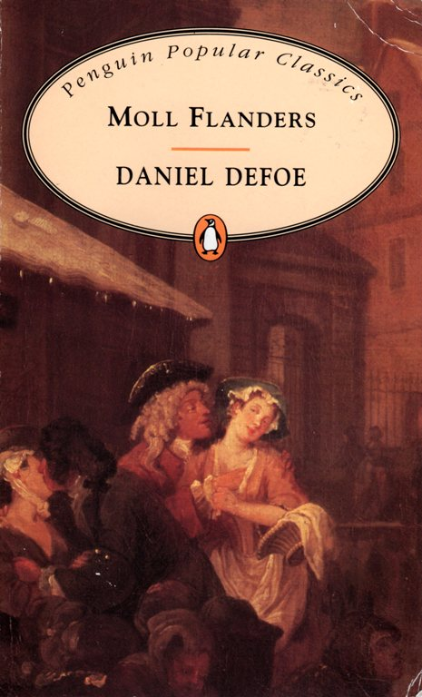 Moll Flanders, Daniel Defoe, Penguin Popular Classics, Classic Literature, Books
