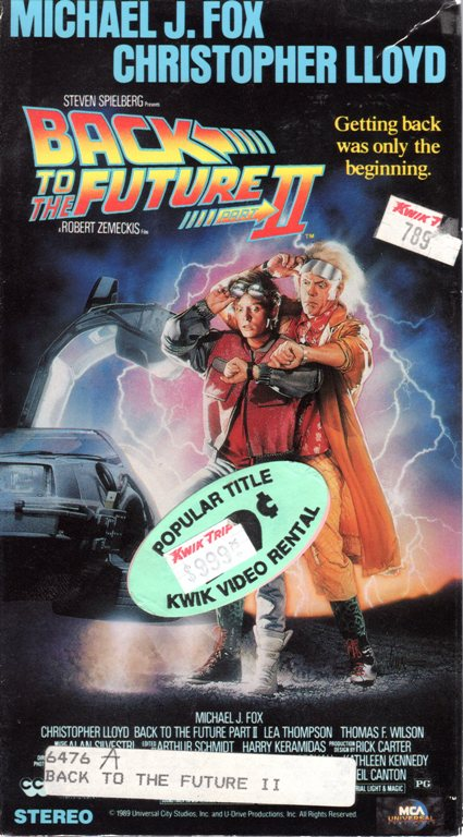 Back to the Future II, Christopher Lloyd, Michael J. Fox, October 21, 2015