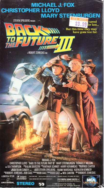 Back to the Future Trilogy, Michael J. Fox, VHS, Time Travel