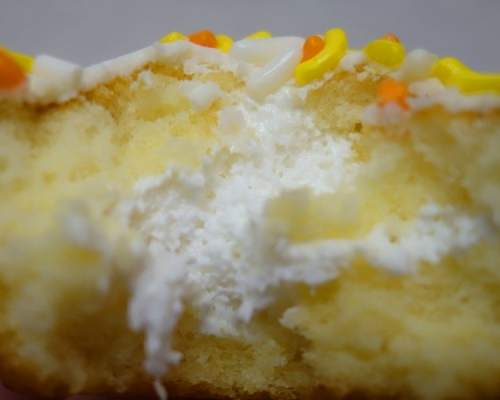 Candy Corn CupCakes, Hostess, Sprinkles, Limited Edition