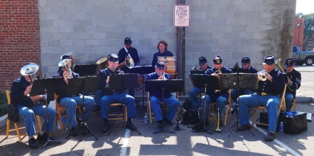 Civil War Band, Tracy Museum, History Day, Civil War
