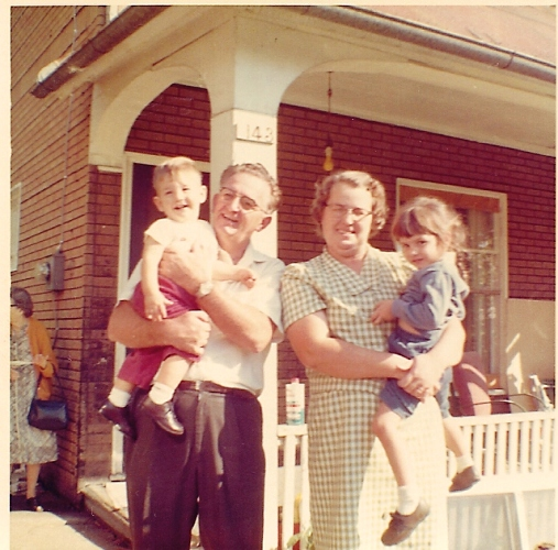 Grandparents, Ottumwa, Iowa, Siblings, Throwback Thursday